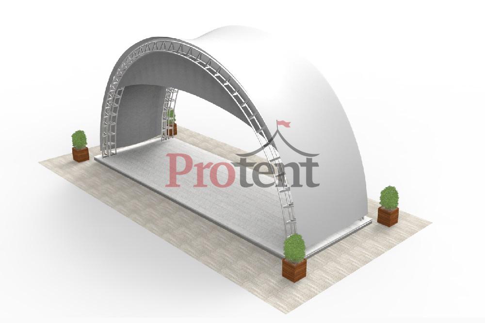 Арочный модуль 10х3 аксонометрия