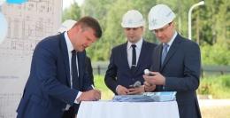 ОЭЗ «Дубна» — закладка строительства фабрики