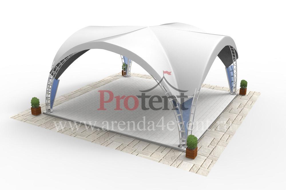Арочный шатёр Arc Tent 100 (V) (10х10 м)