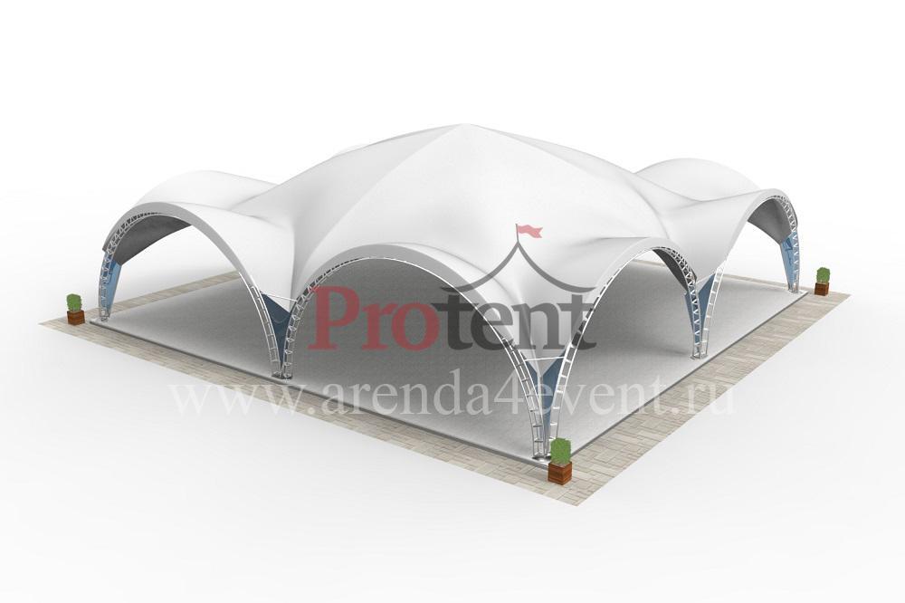 Арочный шатёр Arc Tent 400 (20х20 м)