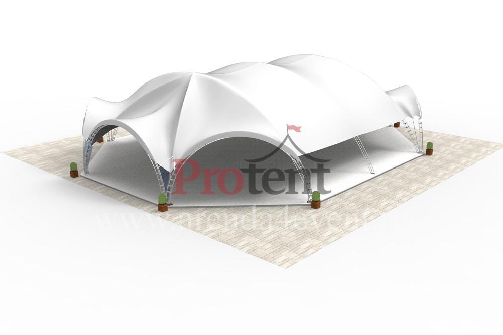 Арочный шатёр Arc Tent 460 (20х27 м)