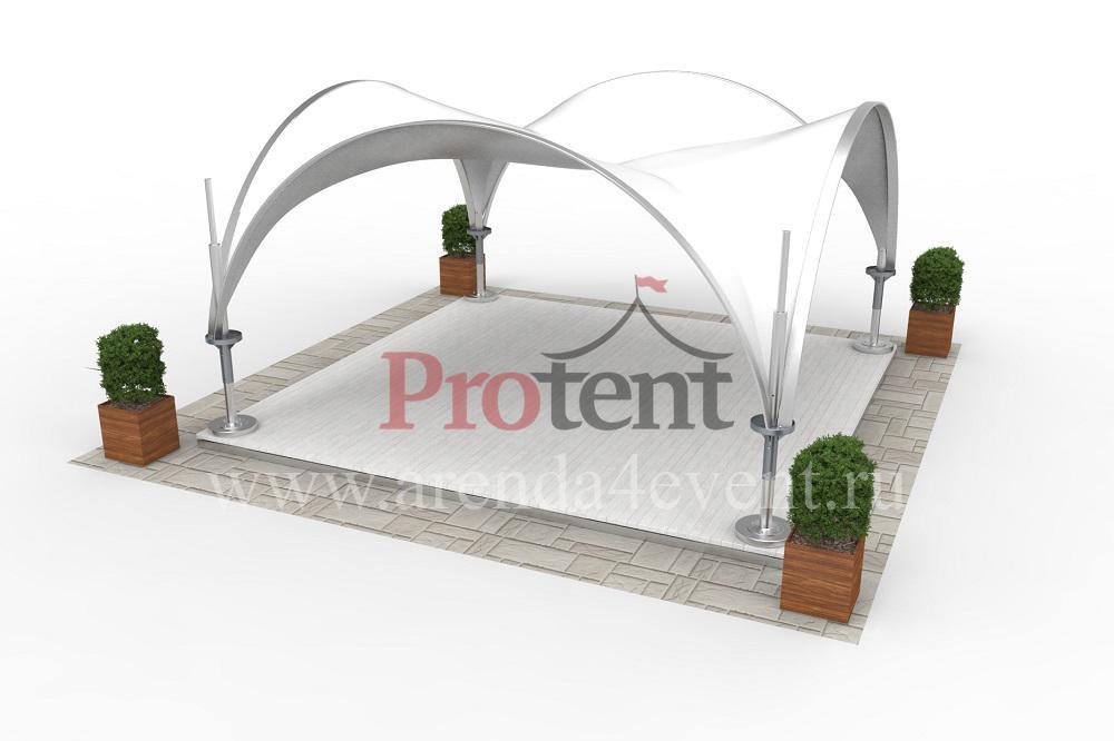 Арочный шатёр Arc Tent 25 (5х5 м)