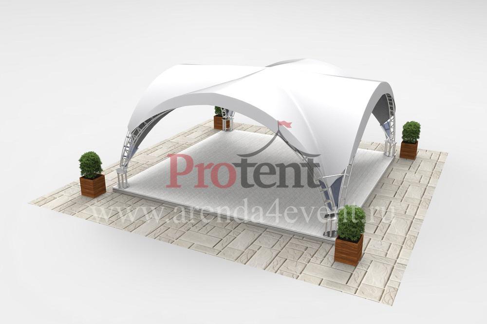 Арочный шатёр Arc Tent 36 (V) (6х6 м)