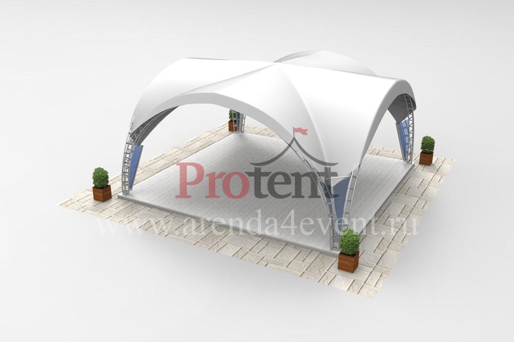 Арочный шатёр Arc Tent 64 (V) (8х8 м)
