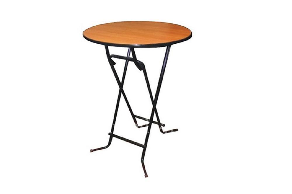 Стол коктейльный круглый